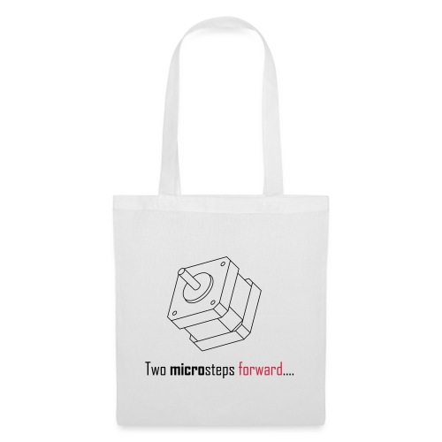 Two microsteps forward.... - Tote Bag