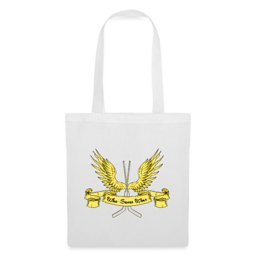 Who Saves Wins, Hockey Goalie - Tote Bag