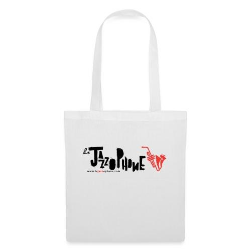 logoLeJazzophone jpg - Tote Bag