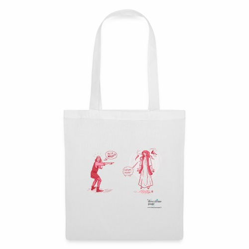 She's a witch! - Tote Bag
