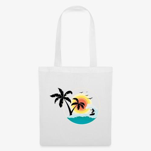 Surfing in paradise - Stoffbeutel