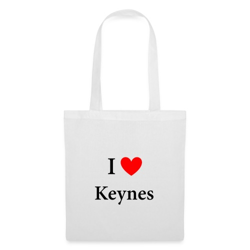 I love Keynes - Stoffbeutel