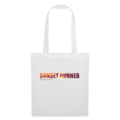 Sunset Runner - @RUNNINGFORCE - Stoffbeutel