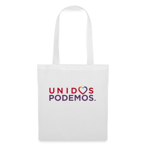 Taza Unidos Podemos 2016 Blanca - Bolsa de tela