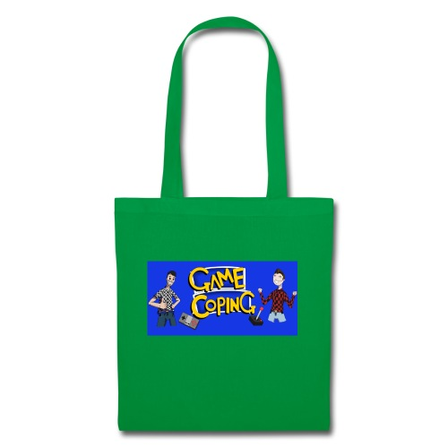 Game Coping Happy Banner - Tote Bag