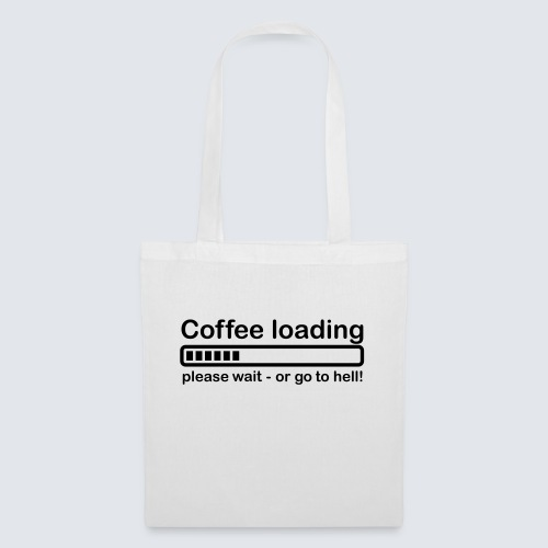 Coffee loading - Stoffbeutel