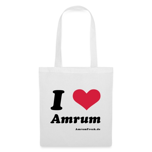 I Love Amrum - Stoffbeutel