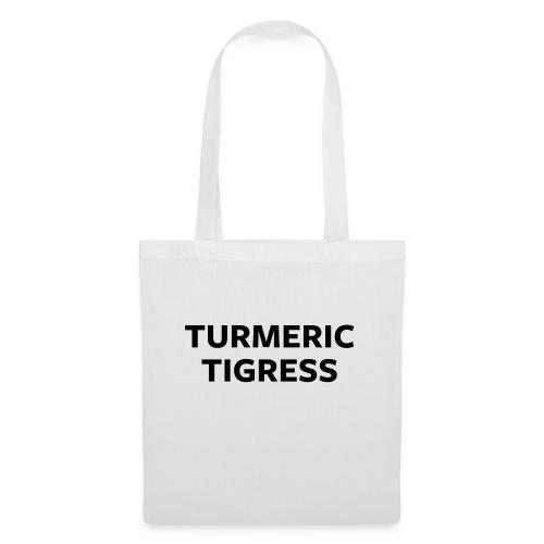 Turmeric Tigress - Tote Bag