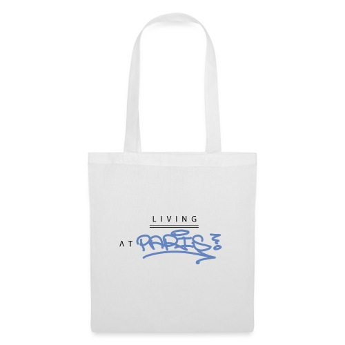 Living @ Paris street letters - Tote Bag