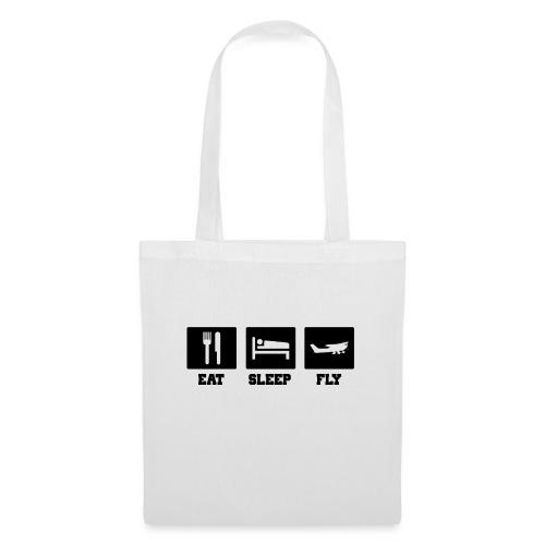 Eat Sleep Fly - Tote Bag