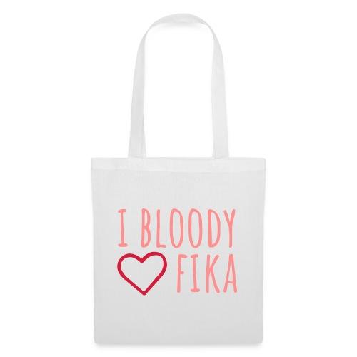 I bloody love fika - with editable colors - Kangaskassi