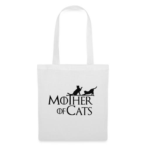 1 texto gatos eng png - Bolsa de tela