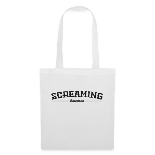 SCREAMING GIRL - Bolsa de tela