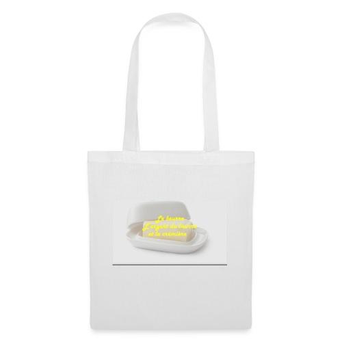 Le beurre - Sac en tissu