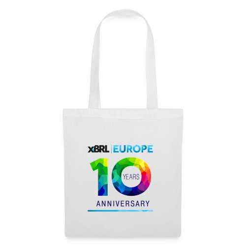 10th anniversary of XBRL Europe - Tote Bag