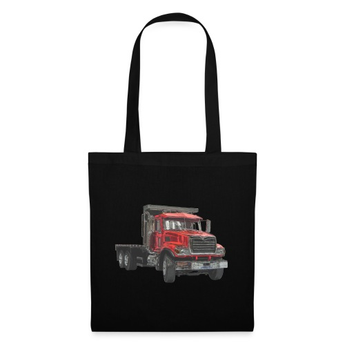 Flat Truck 3-axle - Red - Tote Bag