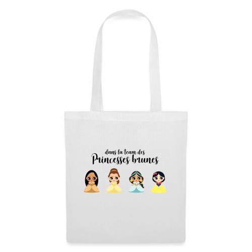 Team princesses brunes - Sac en tissu