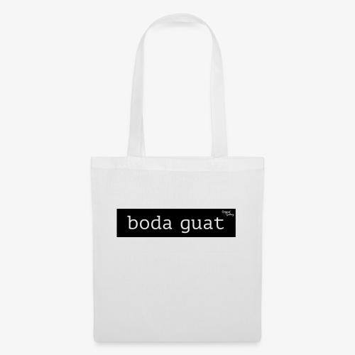 Boda guat - schwarz - Stoffbeutel