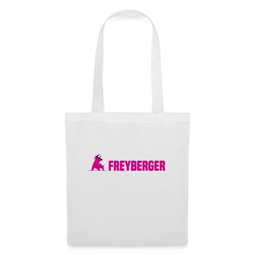 FREYA VON FREYBERGER mit Schriftzug, hinten FREYA - Stoffbeutel