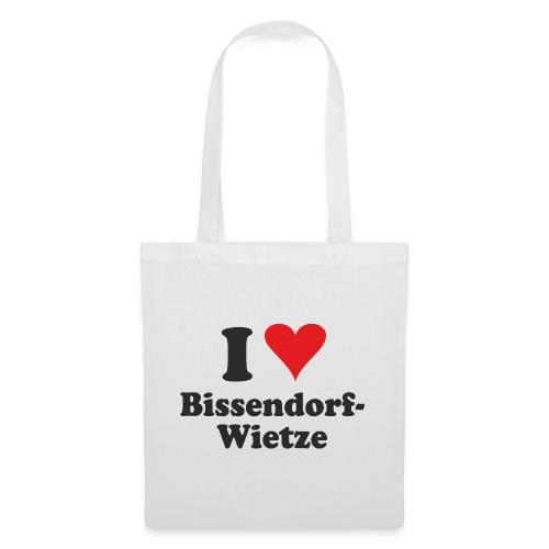I Love Bissendorf-Wietze - Stoffbeutel