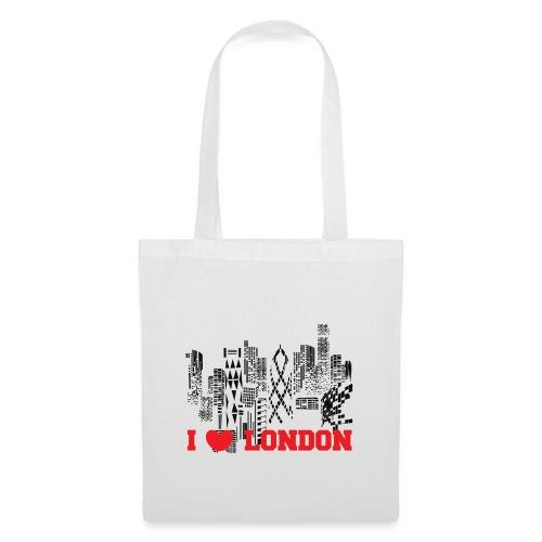 I LOVE LONDON SKYCRAPERS - Bolsa de tela