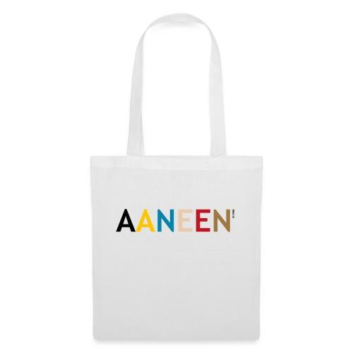 AANEEN_Alleen_Letters - Tas van stof