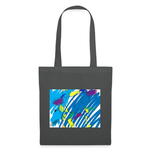 Signed Rainbow Cow - Tote Bag