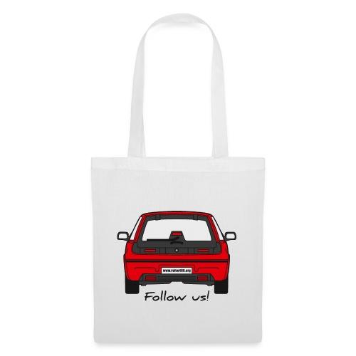 follow us - Tote Bag