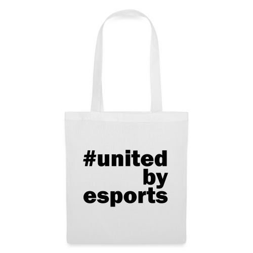 United By Esports schwarz - Stoffbeutel