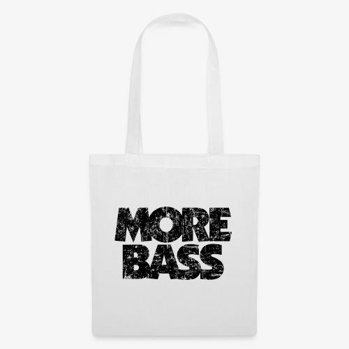 More Bass (Vintage/Schwarz) Bassist Bassisten - Stoffbeutel