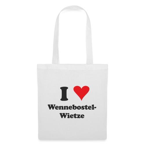 I Love Wennebostel-Wietze - Stoffbeutel