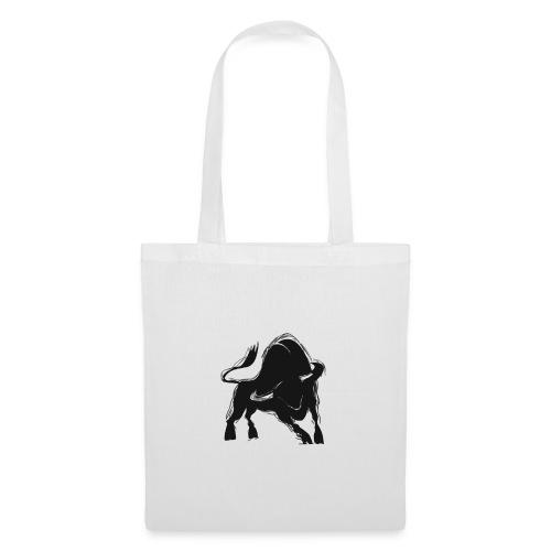 Der schwarze Stier - Stoffbeutel