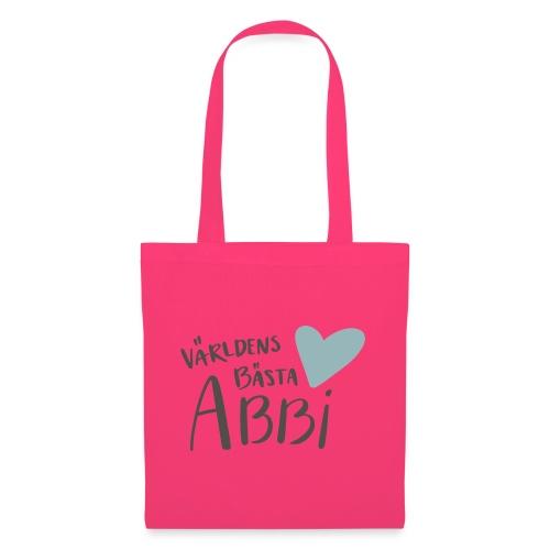 Världens bästa Abbi - Tygväska