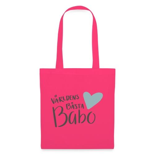 Världens bästa Babo - Tygväska