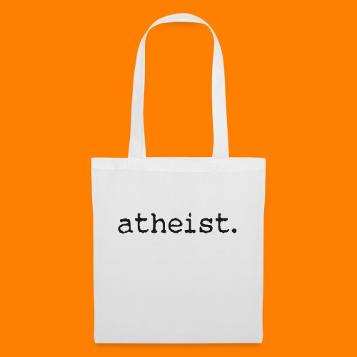 atheist BLACK - Tote Bag