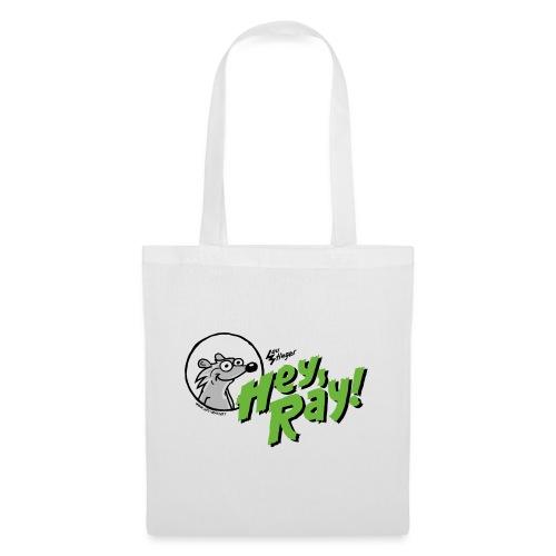Hey Ray Logo green - Stoffbeutel
