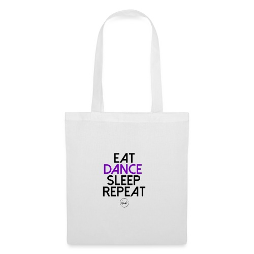 Eat dance sleep repeat - Tote Bag