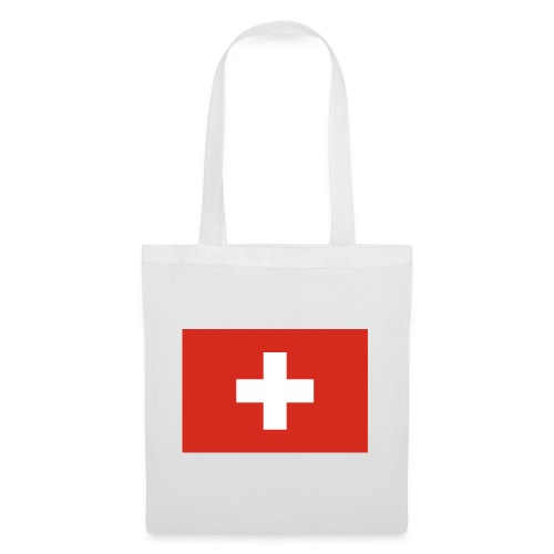 Bandera de Suiza - Bolsa de tela