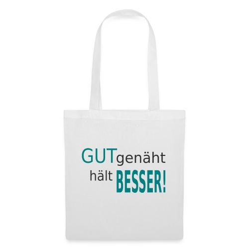 NEU_gut genäht_hell+dunk - Stoffbeutel
