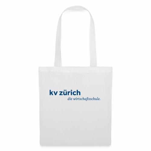 KVZ Logo Blau - Stoffbeutel