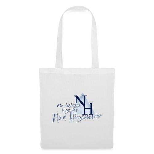 Ich lese lieber Nina Hirschlehner - Stoffbeutel