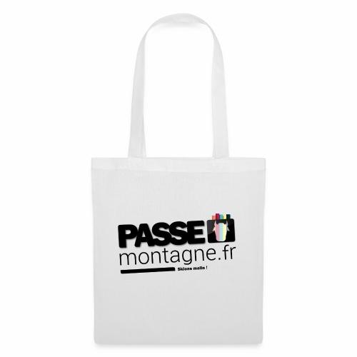 Logo Passe Montagne Couleur - Sac en tissu