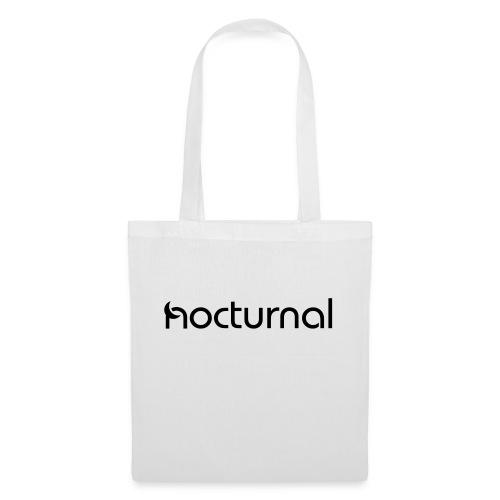 Nocturnal Black - Tote Bag