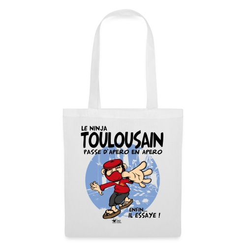ninja toulousain png - Tote Bag
