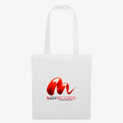 Logo Njoy Records Noir - Tote Bag