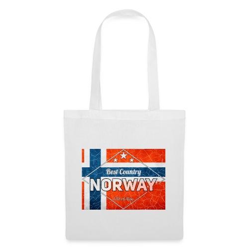 Best Cuntry NORWAY - Tote Bag