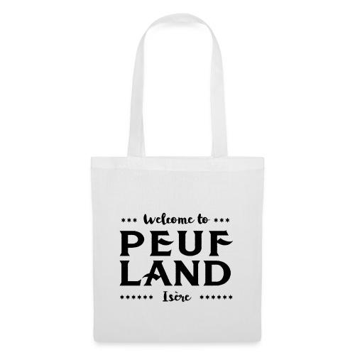 Peuf Land 38 - Isère - Black - Tote Bag