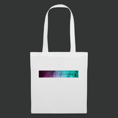 Galaxy lost girl banner - Tote Bag