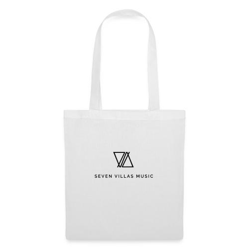 7V LOGO BLACK - Bolsa de tela