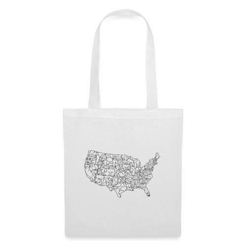 UNITED CATS OF AMERICA - Torba materiałowa